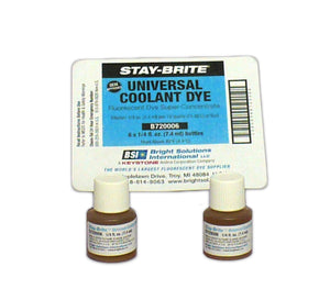 B720006 - STAY-BRITE® Universal Coolant Dye 1/4 oz. Bottles