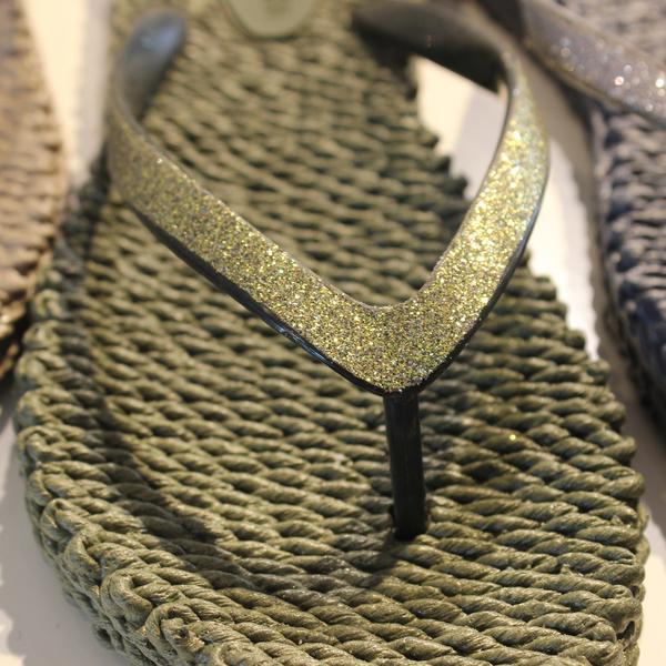 Slippers met glitter CHEERFUL01 - 410 Army