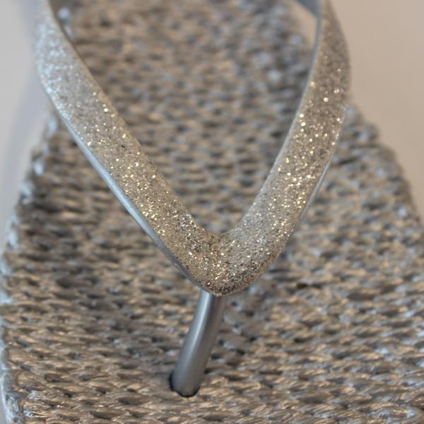 Slippers met glitter CHEERFUL01 - 710 Silver