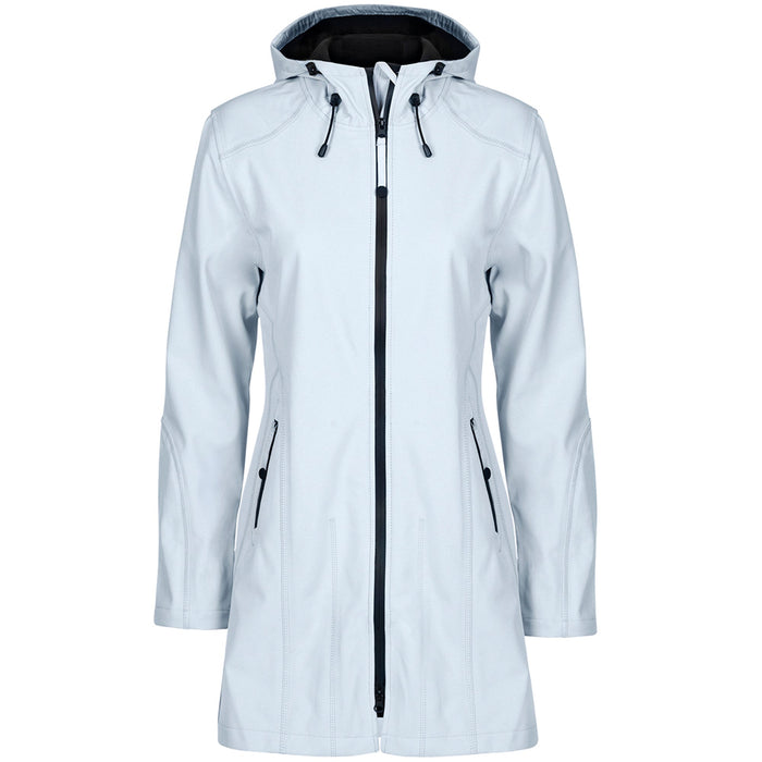Softshell regenjas RAIN07 - 637 White Blue