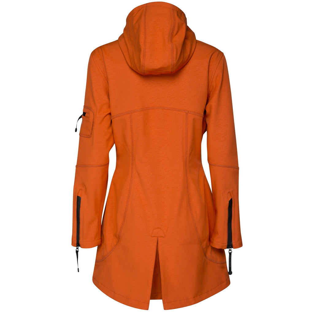 Softshell regenjas RAIN07 - 836 Red Orange