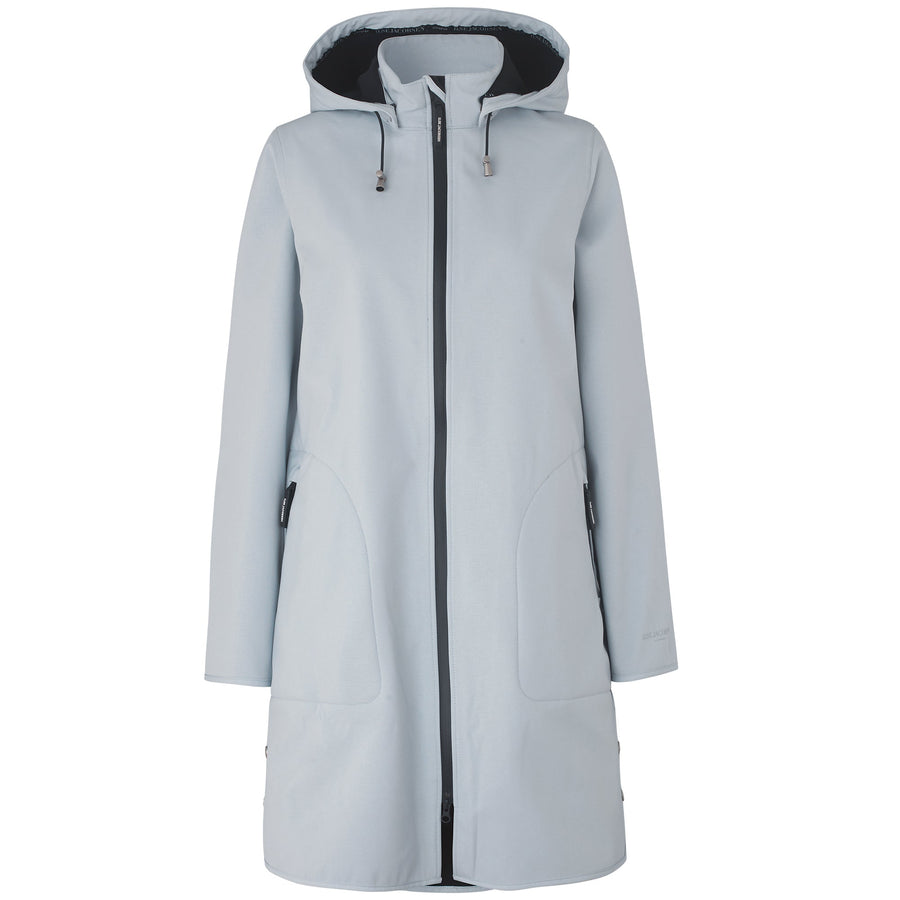 Softshell regenjas RAIN128 - 637 White Blue