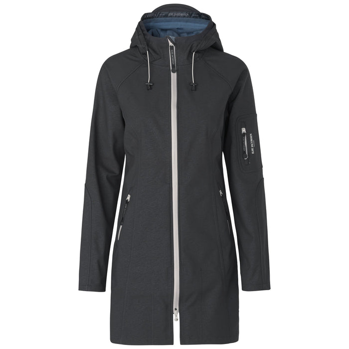 Softshell Regenjas RAIN37B - 080699 Dark Antracite Blue Grayness