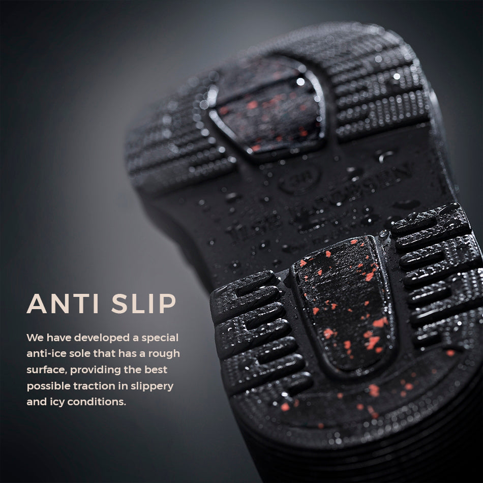 Anti-slip Rubberlaars RUB350 - 001 Black