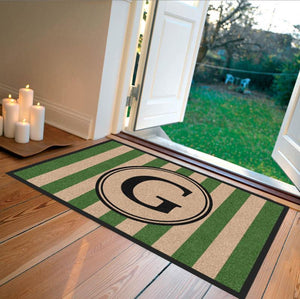 Farmhouse | Farmhouse Doormat Green | Doormats Direct