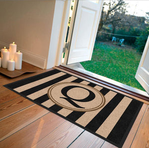 Farmhouse | Farmhouse Doormat Black § | Doormats Direct