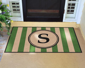 Farmhouse | Farmhouse Doormat Green § | Doormats Direct