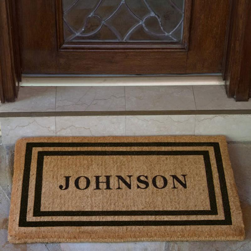 Luxury Coir | Luxury Coir Double Border Doormat | Doormats Direct