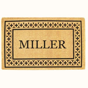 Luxury Coir | Luxury Coir Cross Border Doormat | Doormats Direct