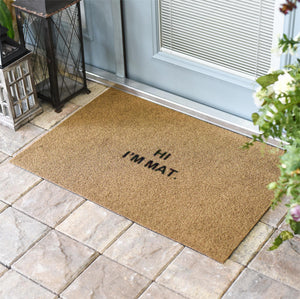 Funny Doormats | HI I'M MAT | Doormats Direct