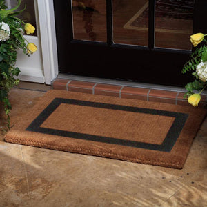 Luxury Coir | Luxury Coir Single Border Doormat | Doormats Direct