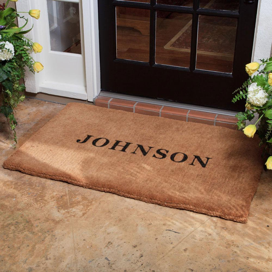Luxury Coir | Luxury Coir No Border Doormat | Doormats Direct