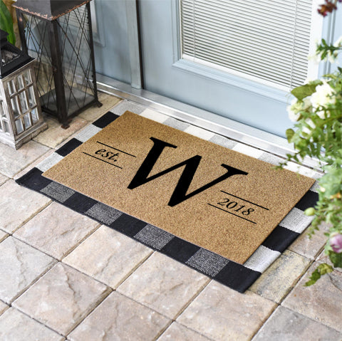 Personalized Doormats | Homestead Monogrammed | Doormats Direct