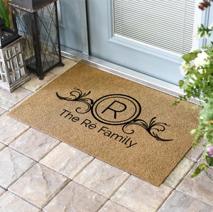 Personalized Doormats | Verona Personalized or Monogrammed | Doormats Direct