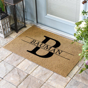 Personalized Doormats | Monogram + Name | Doormats Direct