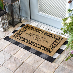 Personalized Doormats | French Quarter Border | Doormats Direct