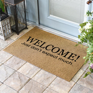 Funny Doormats | Welcome when you're here you're family | Doormats Direct