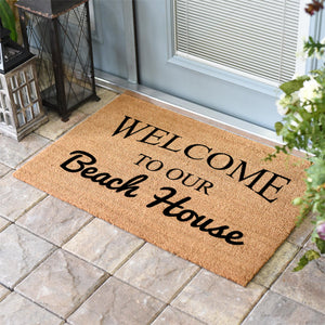Funny Doormats | Welcome To Our Beach House | Doormats Direct