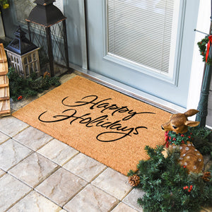 Christmas Doormats | Happy Holidays | Doormats Direct
