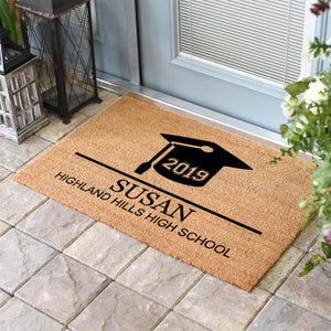 Personalized Doormats | Graduation School Name | Doormats Direct
