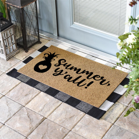 Funny Doormats | Summer, Y'all | Doormats Direct