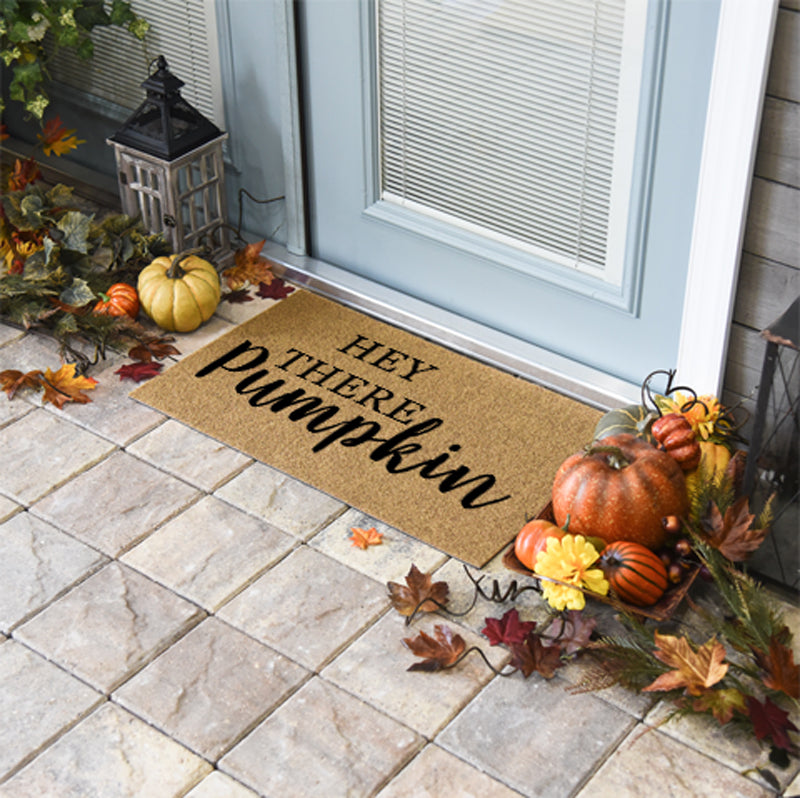 Thanksgiving Doormats | Hey There Pumpkin | Doormats Direct