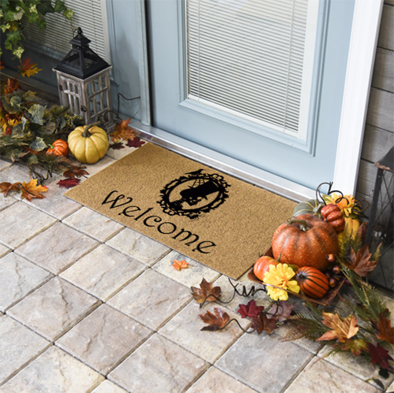 Halloween Doormats | Welcome Skeleton | Doormats Direct