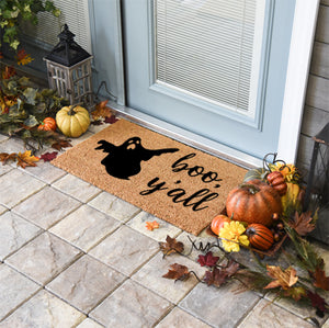 Halloween Doormats | Boo, Y'all | Doormats Direct