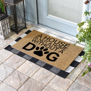 Funny Doormats | A House Is Not A Home Without A Dog | Doormats Direct