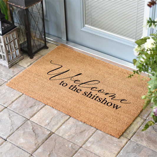 Funny Doormats | Welcome to the Shitshow | Doormats Direct