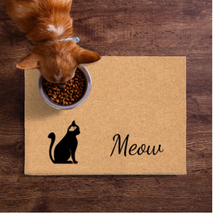 Pet Mats | Fish On The Brain Cat Non-Personalized | Doormats Direct
