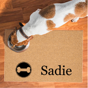 Pet Mats | Dog Bone Personalized | Doormats Direct