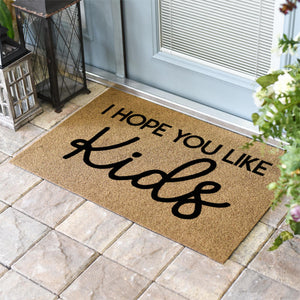 Funny Doormats | Hope You Like Kids | Doormats Direct