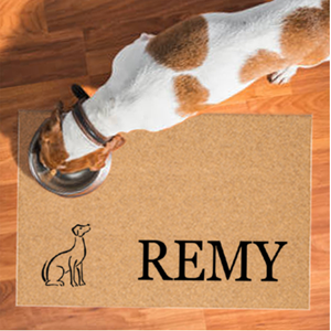Pet Mats | Single Dog Personalized | Doormats Direct