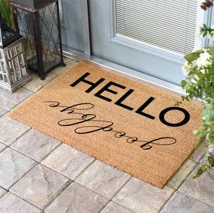 Funny Doormats | Hello Goodbye | Doormats Direct