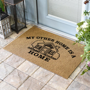 Funny Doormats | My Other Home Is A Home | Doormats Direct