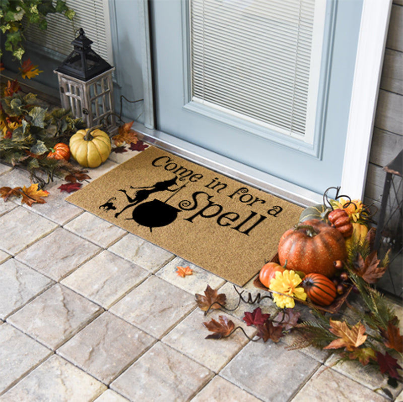 Halloween Doormats | Come In For A Spell | Doormats Direct