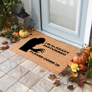 Halloween Doormats | I'm Already Disturbed | Doormats Direct