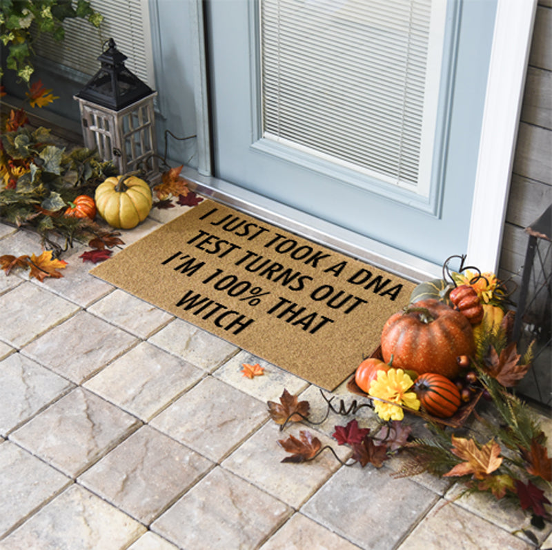 Halloween Doormats | 100% That Witch | Doormats Direct