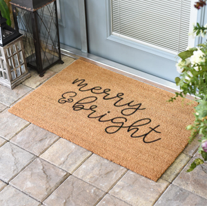 Christmas Doormats | Merry & Bright | Doormats Direct