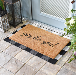 Funny Doormats | Yay It's You | Doormats Direct