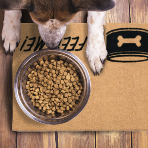 Pet Mats | Feed Me Dog Bone Non-Personalized | Doormats Direct