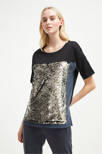 French Connection Sequin T-Shirt