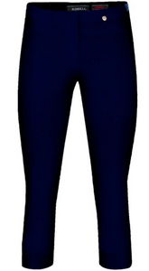 Robell Rose 07 Trouser - Navy (69)