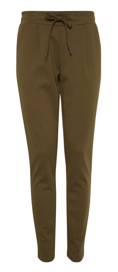Ichi Kate Dark Olive Trousers
