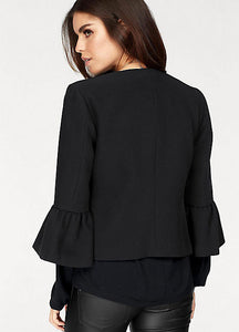 Only Tina Bell Sleeve Blazer
