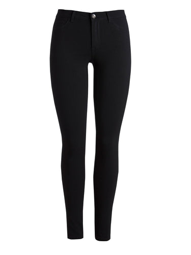 Pieces Betty Black Jeggings