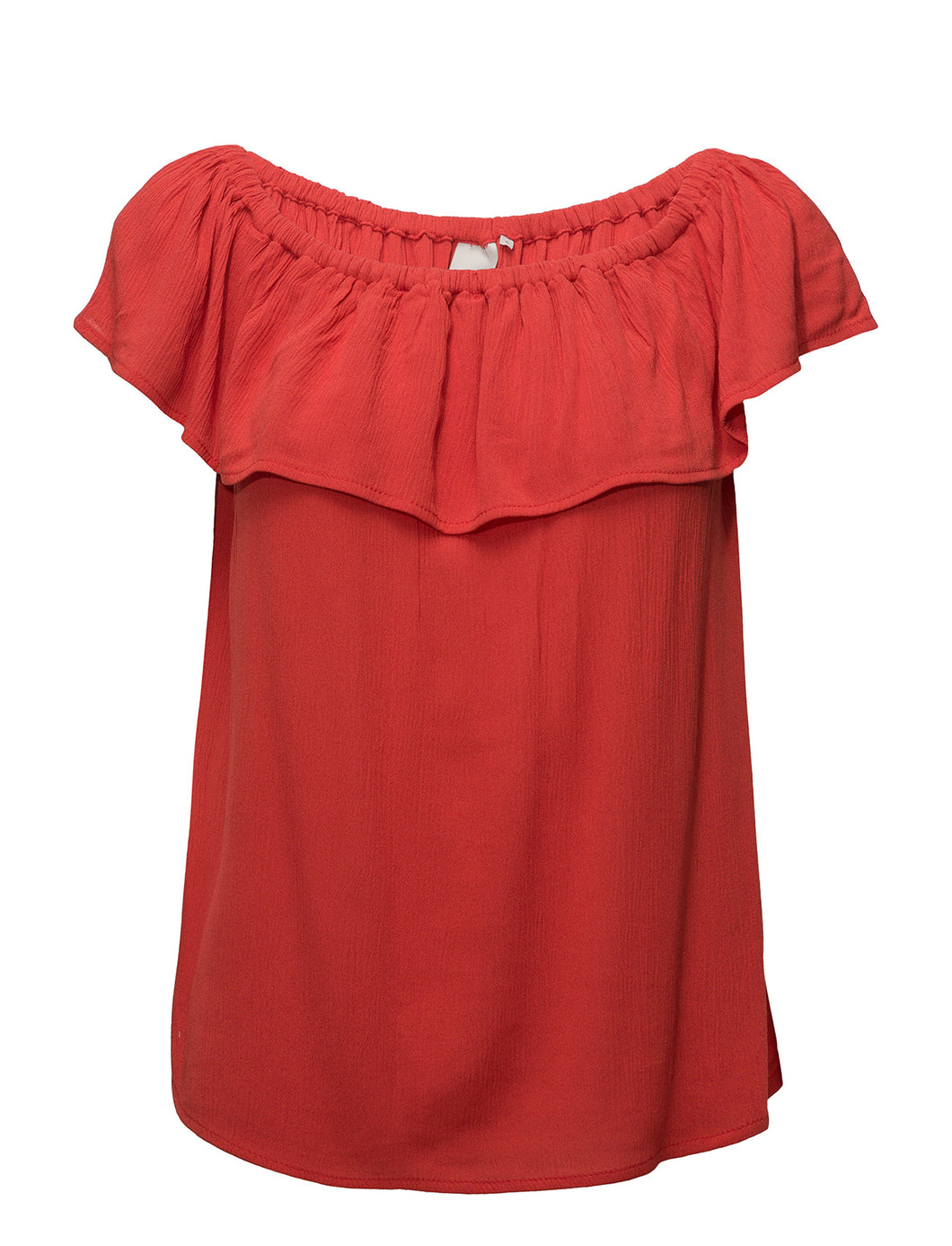 Ichi Marrakech Red Bardot Top