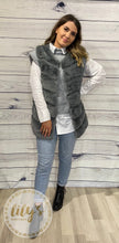 Mia Knitted Vest Shirt