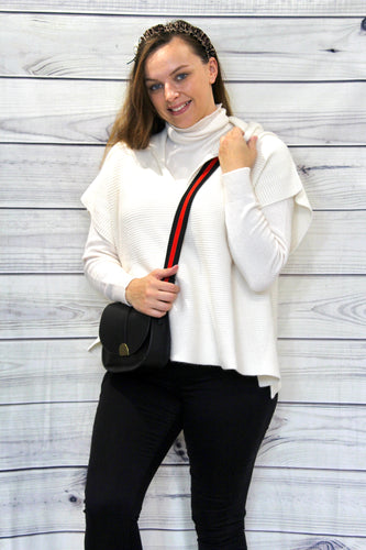 Amelia Polo Neck Jumper
